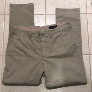 AllSaints Karp Chino Khaki Pants